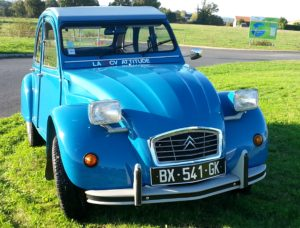 2cv Bleu