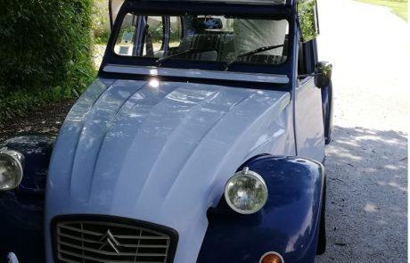 Location 2cv - voiture mariage Vendée - Cholet - Pays de Loire